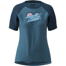 Zimtstern Heartz T-Shirt Damen blau
